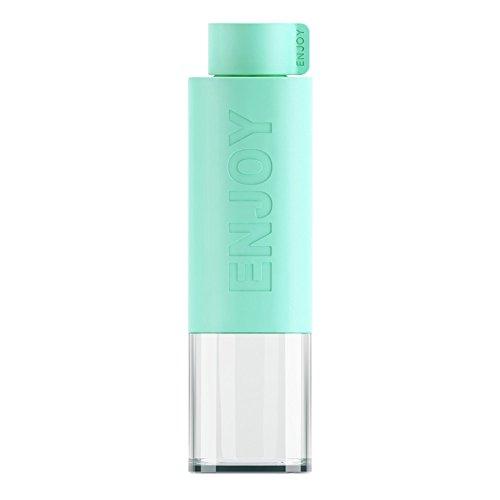 Plastico-Botella-Agua-Deporte-530ML-Green