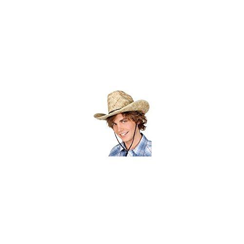 Faschingshut Strohut Cowboy Hut Dallas Bull