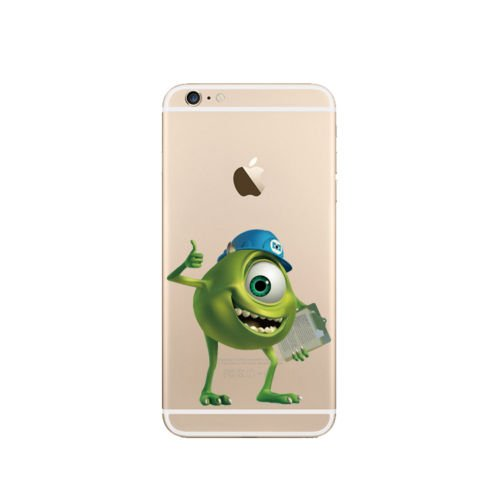 New Disney Monster Uni. Transparent TPU Soft Case für Apple iPhone 5/5S .5se, 5 C.6/6S 6 + & 6 + S, plastik, MONSTER - 7, APPLE IPHONE 6.s MU.5