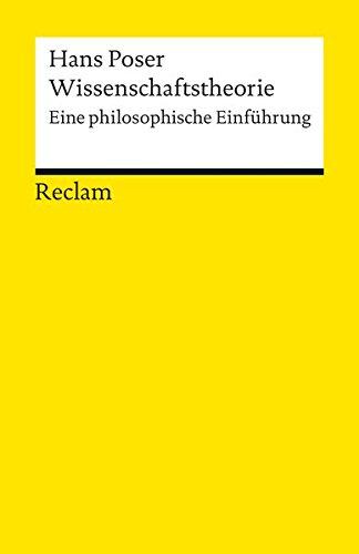 Wissenschaftstheorie: Eine philosophische Einführung (Reclams Universal-Bibliothek)