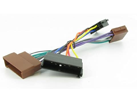 XtremeAuto® ISO Stereo Wiring adapter harness for FORD. For use with aftermarket stereos.