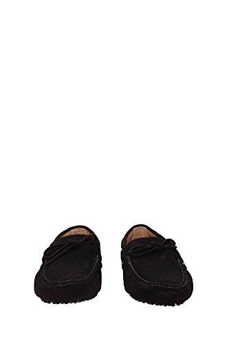 KUD006EBANOSCAMOSCIATO8 Car Shoe Mocassins Homme Chamois Marron clair Marron Clair