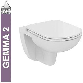 Ceramica Dolomite Catalogo Prezzi.Vaso Gemma 2 Ceramica Dolomite Sospeso Bianco Eu Amazon It