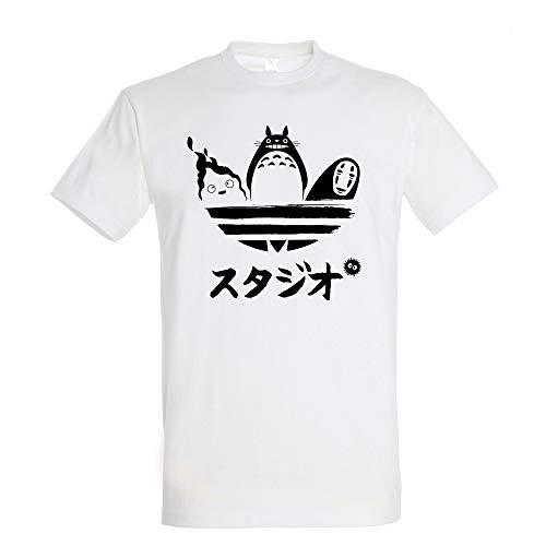 Studio Brand T-Shirt- Totoro - Geist des Waldes - 100% Baumwolle - Hochwertiger Siebdruck.