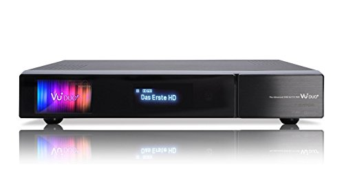 VU+ Duo² 1x DVB-C/T2 Dual/ 1x DVB-C/T2 Tuner PVR Ready Twin Linux Receiver Full HD 1080p