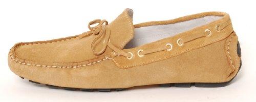 Antica Calzoleria Campana Schuhe | Mod. 1005 | Mokassins | Wildleder | 8 verschiedene Farben Beige
