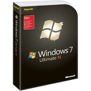 Microsoft Windows 7 Ultimate, N version, Upgrade Edition (PC DVD) (7 Upgrade Windows Ultimate)