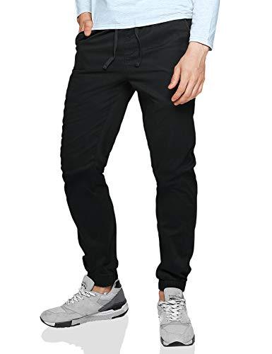 Match Pantalons Chino Jogger pour Homme #6535(6535 Gris Acier (Steel Gray),29 (FR 38))