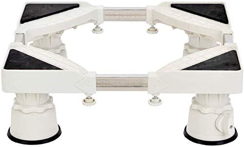 GUOOK Soporte De Soporte De Base MóVil Multifuncional Pedestal para Lavadora Ventosas...