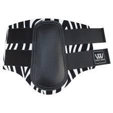 Woof Wear Club stinchiere-Zebra Print, Zebra Print, XS