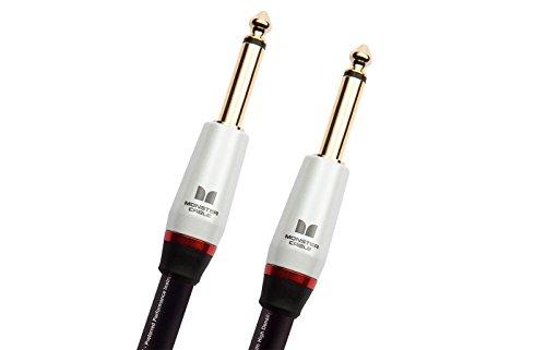 Sp2000 Monster Cable (Monster Cable SP2000-I-21 Jack Droit auf Jack Droit Instrumentenkabel (6,4 m))