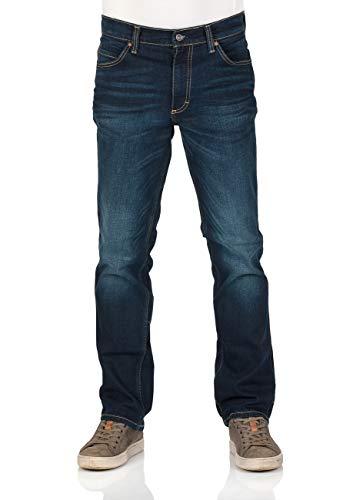 Mustang Herren Jeans Tramper - Straight Fit - Blau - Denim Blue, Größe:W 40 L 32, Farbe:Denim Blue (883)