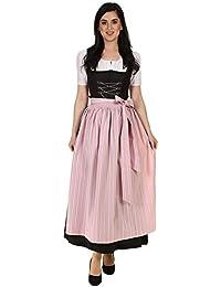 013bded1d8862d Hammerschmid Damen Schürze Dirndlschürze lang Baumwolle traditionell  1912604 32