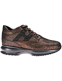 Amazon.it  scarpe hogan donna - Marrone   Scarpe da donna   Scarpe ... 5ffa7b9420f