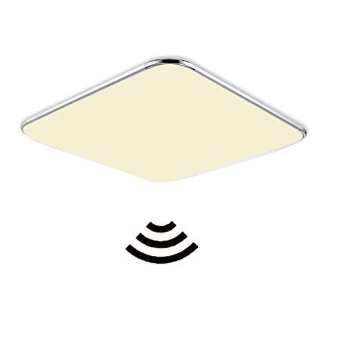MYHOO 12W LED Sensor Deckenleuchte Deckenlampe Warmweiß Wandleuchte Sensorleuchte mit Bewegungsmelder Radar für Wohnzimmer Korridor Schlafzimmer Flurleuchte Leuchte [Energieklasse A++]