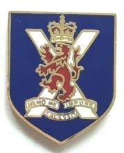 Emblems-Gifts Angenommen in Krieg Jemz-Königliche Regiment der Schottland des britischen Armee A Present Day 2006