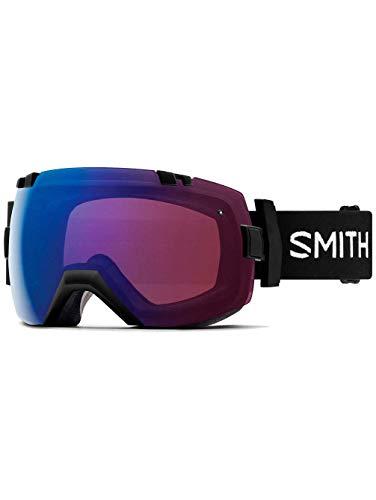 Smith optics i/ox, maschera sci unisex – adulto, nero/rose flash, l