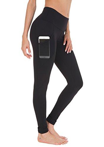Queenie Ke Damen Power Flex Yoga Hosen Training Laufende Leggings Farbe Schwarz Tasche Größe XXL