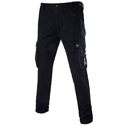 Basic Tactical Shirt (Geili Herren Cargohose Übergröße Freizeithose Viele Taschen Kampfhose Arbeitshose Männer Casual Tactical Military Armee Combat Lang Hosen Herbst Winter Regular Fit Cargo Pants)