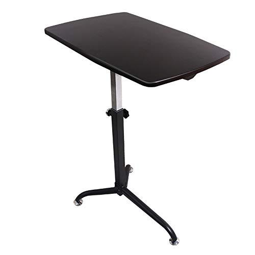 Mobiler Tisch des Tischrechner-Arbeitsplatzes - Klapptisch (Farbe : Schwarze Walnussfarbe)