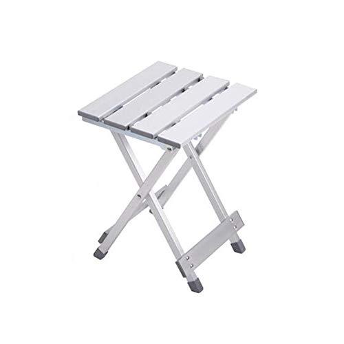 CJC Selles Chaise Pliable Aluminium Alliage Loisir Pêche Bureau Accueil Pique-Nique Plage Salle De Bains Cuisine Jardin Poids Léger Multifonction