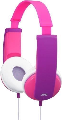 JVC Kinder Kopfhörer mit Volumenbegrenzung - Rosa und Lila