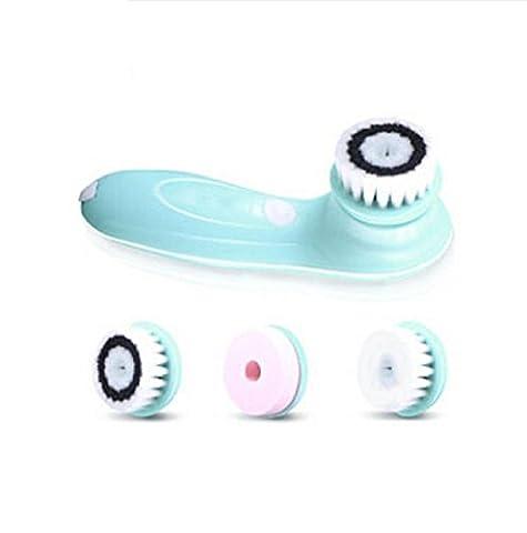 Meydlee Tragbare elektrische Reinigungsvorrichtung Gesichtsreinigung Pinsel Gesichts Massage Peeling Schönheit