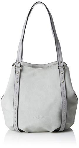 TOM TAILOR Shopper Damen, Jana, Grau, 30x26x15 cm, Schultertasche, Tom Tailor Handtaschen Damen