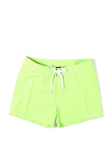 Short de bain Homme Sundek 502 Low Rise Fluo Green Vert Fluo Vert