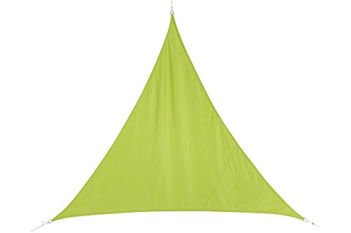 Voile d'ombrage Triangulaire (L4m) Curacao Vert