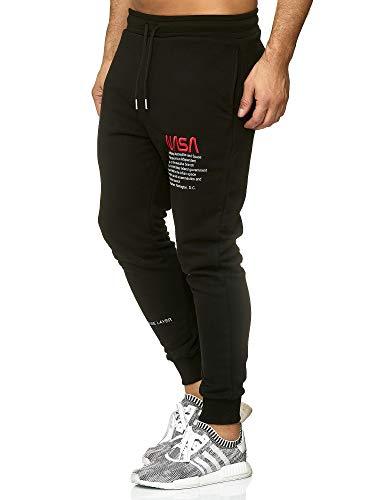 Redbridge Herren Jogger NASA Prints Sweat Pants Basic Hose Gym Jogginghose