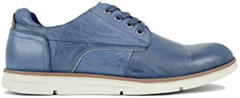 Vicmart - Primavera Zapato Sport con Cordones Azulón  -