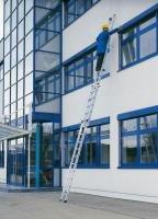 Aluminium-Seilzugleiter 2 x 17 Sprossen Arbeitshöhe bis ca. 10,00 m