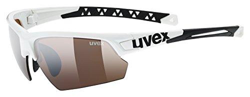 Uvex Sportstyle 224 cv Sportsonnenbrille, white, One Size