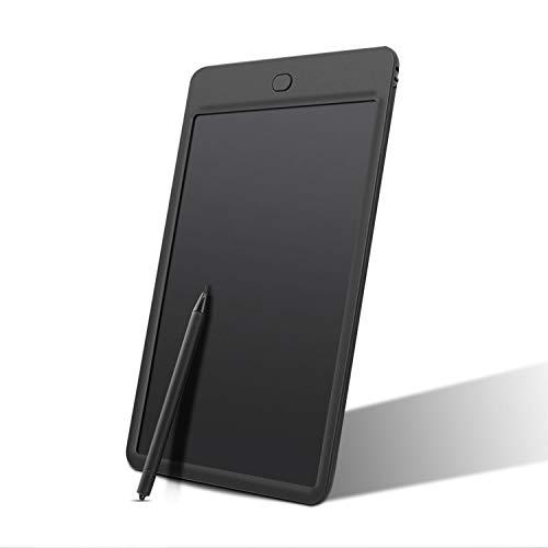 Cikuso 10-Zoll-Schreiben Graffiti-Grafik-Tablet zum Zeichnen von Tabletten mit Stylus Pen-Grafiktablett Fuer Kinder-Kind Memo Board LCD Draw Note Schwarz
