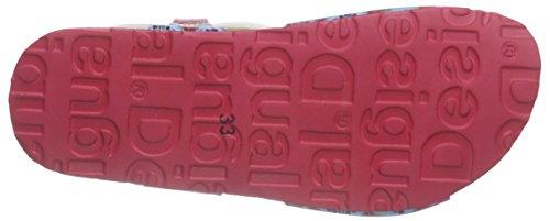 Desigual Bio 3, Sandales Fille Pink (3022 FUCHSIA ROSE)