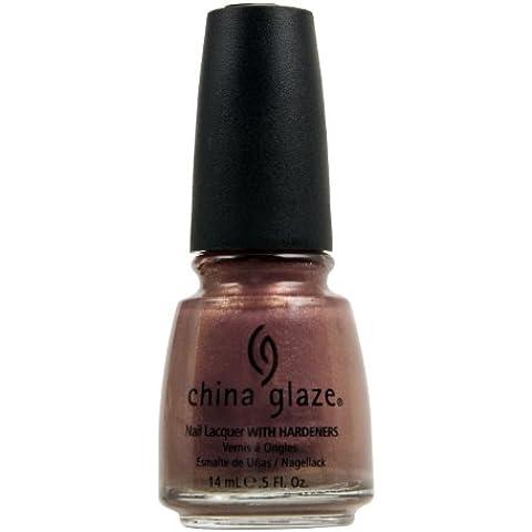 CHINA GLAZE Nail Lacquer with Nail Hardner - Sex On The (China Glaze Nail Lacquer)
