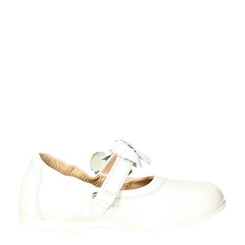 Florens E4110 Ballerinaschuhe Mädchen Weiß