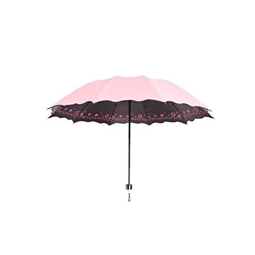 Preisvergleich Produktbild Sunny / Rain Dual-Zweck Regenschirme Sonnenschutz UV-Schutz Faltende Regenschirme Kreative Hirtenschirme_A15