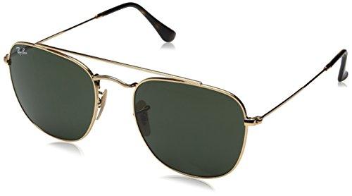 RAYBAN JUNIOR Herren Sonnenbrille RB3557 Gold/Green, 54