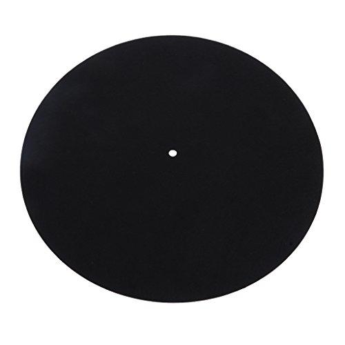 MagiDeal LP Vinyl Plattenspieler Slipmat Rekord Wolle Pads Antistatische Anti-Vibrations-Matte