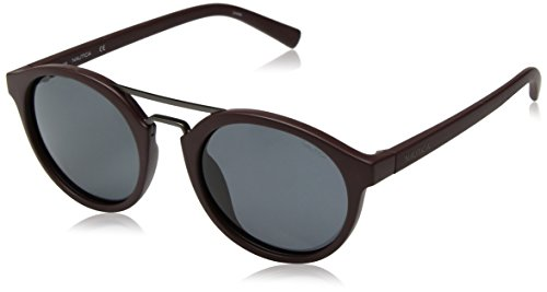 Nautica Herren N3626Sp 602 53 Sonnenbrille, Rot (Matte Oxblood)