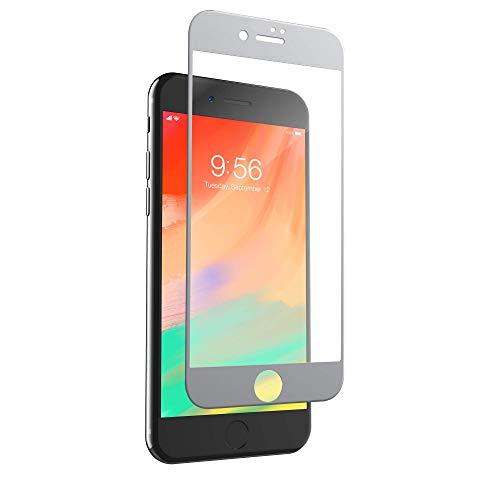 invisibleSHIELD 200101461 Curve Glas-Displayschutz für Apple iPhone 8 Plus/7 Plus, weiß Zagg Invisibleshield Apple