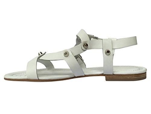 Kennel & Schmenger , Sandales pour femme White w/ Silver Studs