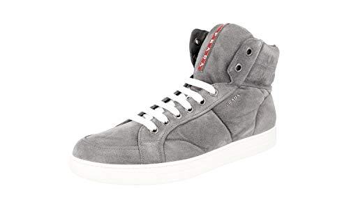 Prada , Herren Sneaker, grau - GHIAIA SCAMOSCI - Größe: 44 EU