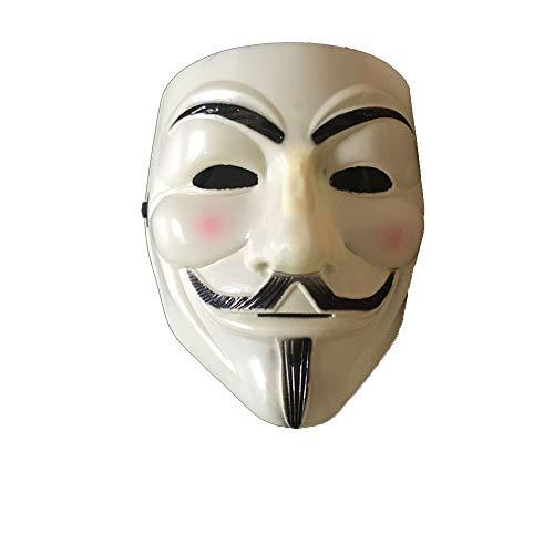 Maske Kostüm Halloween Maske Kostüm Erwachsene Kostüm Zubehör für Geschenke Kostüm Parteien Halloween Ect 1 Pcs Hellgelb ()