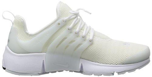 Nike Wmns Air Presto, Chaussures de Sport Femme Blanc Cassé - Blanco (White / Pr Platinum-White-White)