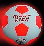 Leuchtfussball Night Kick das Original, seit 7 Jahren bewährt- Tausende begeisterte Kunden-Top Qualität und Mega Fun zum besten Preis-Das besondere Fussballgeschenk für jung und Alt!