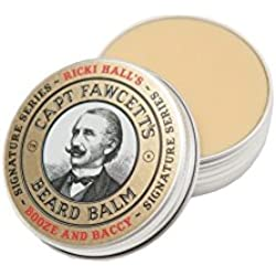 Bálsamo Barba Ricki Hall Booze & Baccy Captain Fawcett 60ml
