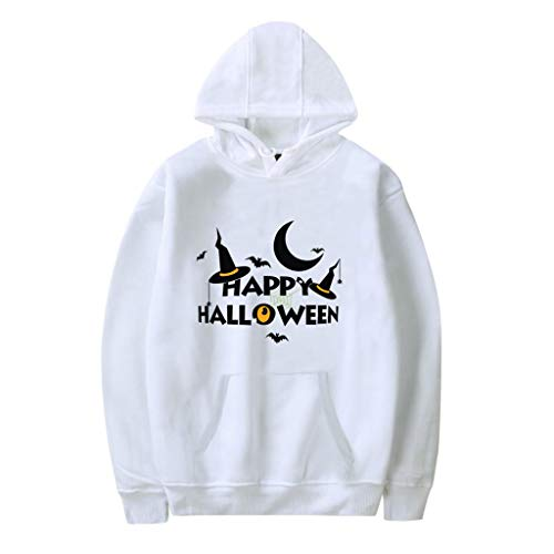 Setsail Paares Halloween Mode Druck Party Langarm Hoodie Sweatshirt Lässiges Tops Bequemes Festliches Kostüm Partykleidung Persönlichkeit Sweatshirt Straßenkleidung -